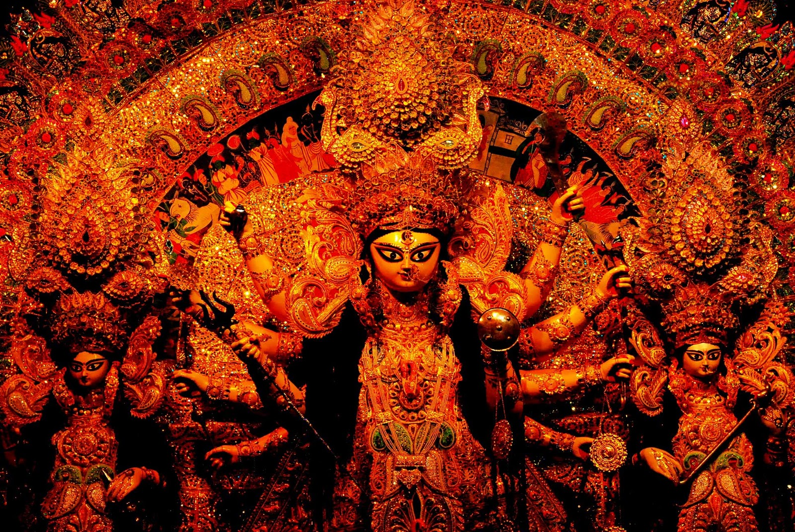THE SLAYING OF MAHISASURA (a liberal translation from the original text)